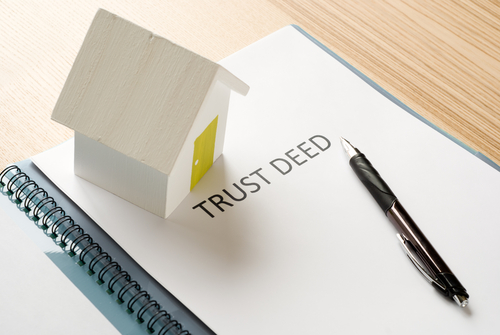 TRUST PURCHASES AND DECLARATION OF TRUST